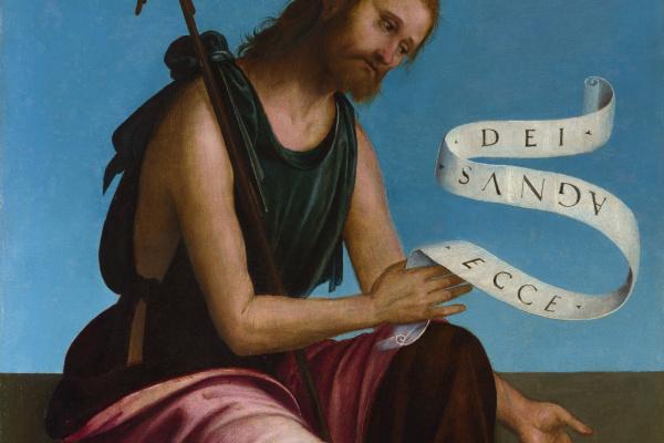 Lorenzo Costa. Saint John The Baptist