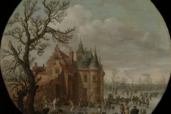 Ян ван Гойен. Зима
