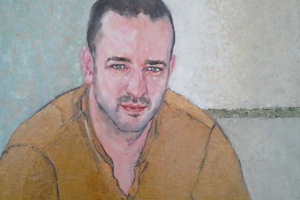 Lubov Meshulam Lemkovitch. Портрет молодого мужчины Алекс