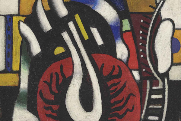 Fernand Leger. The red disc