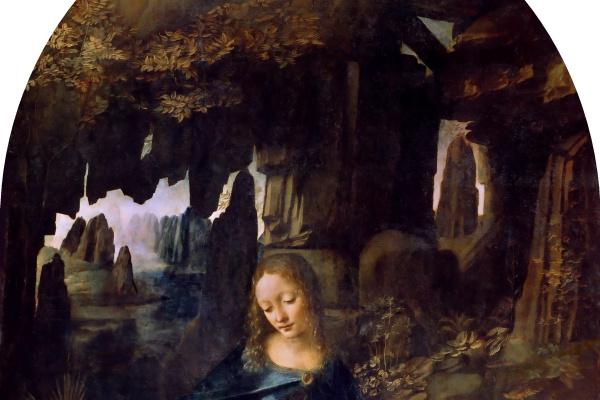 Leonardo da Vinci. The Virgin of the Rocks (Madonna of the Rocks)