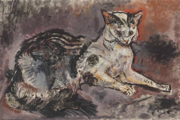 Oskar Kokoschka. Cat