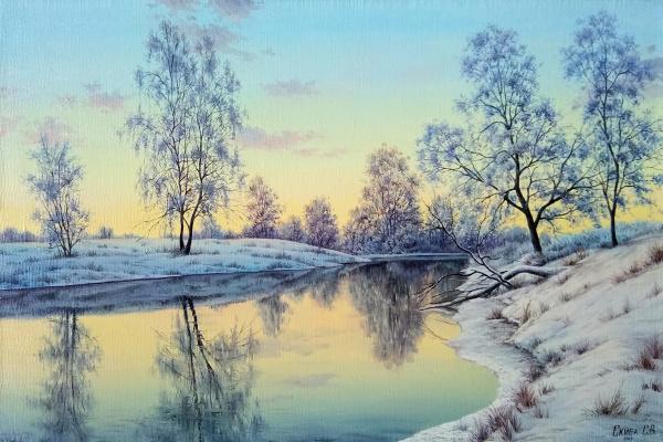 Sergey Valerievich Skiba. January evening
