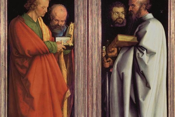 Альбрехт Дюрер. Четыре апостола. (Иоанн, Петр, Марк, Павел)