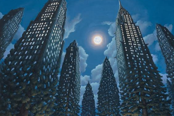 Rob Goncalves. Forest office