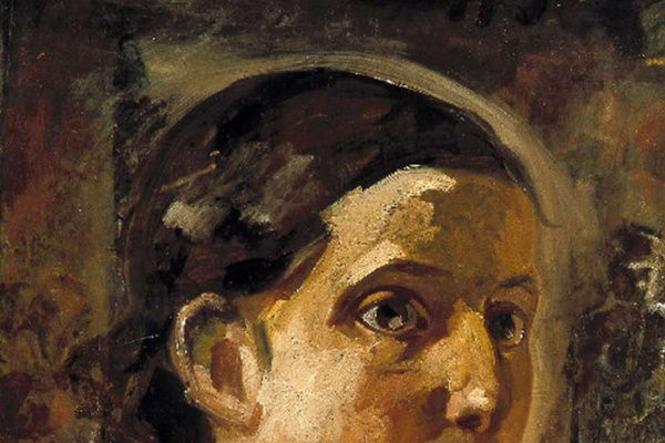 """Nikolai Nikolaevich Ge. The Head Of John The Theologian. Study for the painting """"the last supper"""""""
