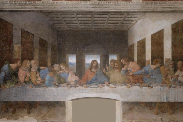 Leonardo da Vinci. The last supper