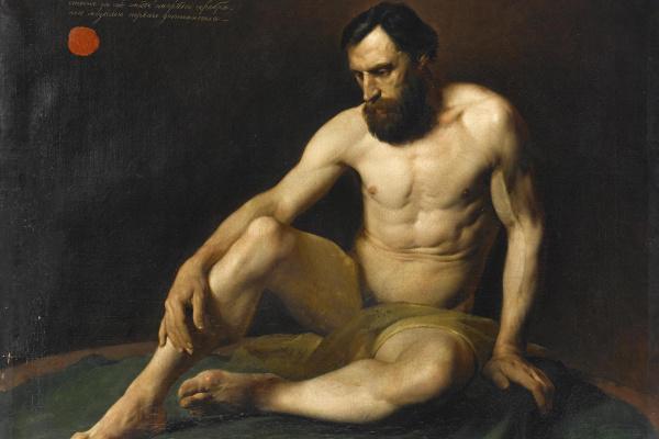 Nikolai Nikolaevich Ge. Nude model