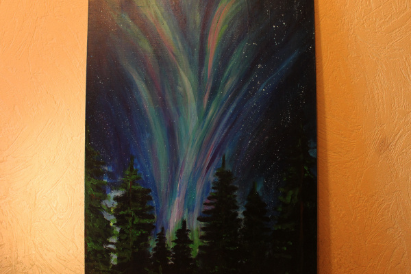 Julia Utyagulova. Northern Lights