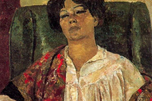 Хосеп-Мария Маллол Суасо. Портрет женщины