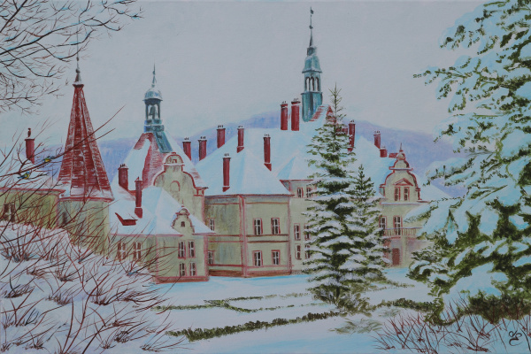 Dmitry Eremenko. Castle Beregvar