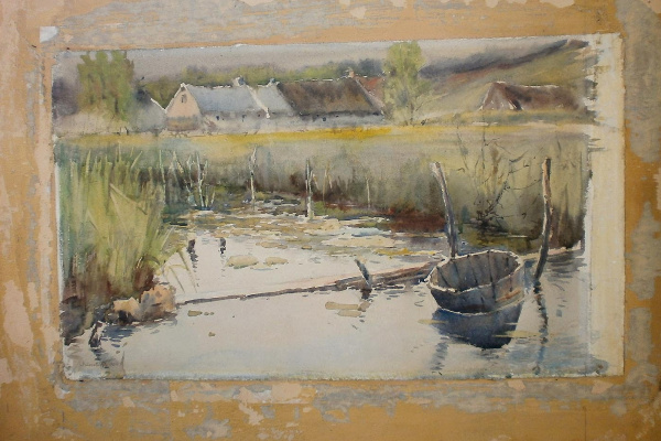 Stepan Fedorovich Kolesnikov (Odessa). Rural landscape