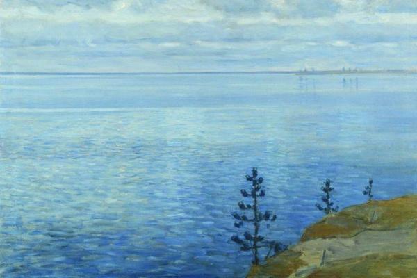 Витольд Каэтанович Бялыницкий-Бируля. Час тишины. Озеро Удомля