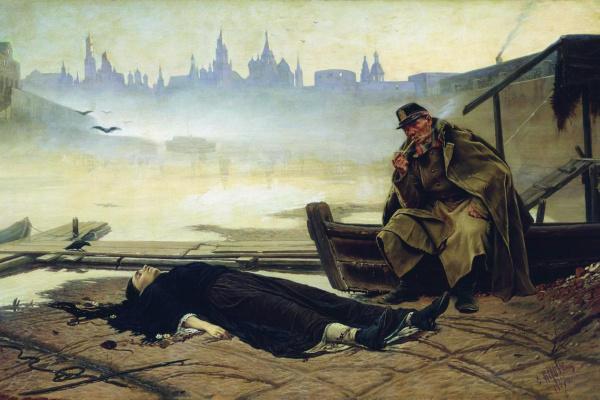 Vasily Grigorievich Perov. Drowned