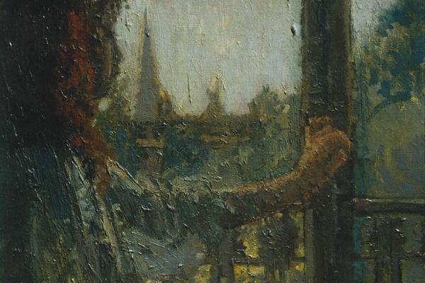 Уолтер Чарльз Сикерт. Девочка возле окна