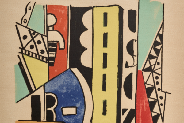 Fernand Leger. Man in town