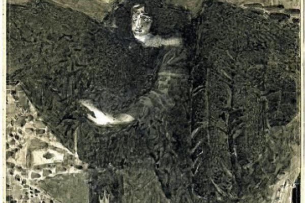 Михаил Александрович Врубель. Демон. Иллюстрация к поэме М.Ю. Лермонтова «Демон»