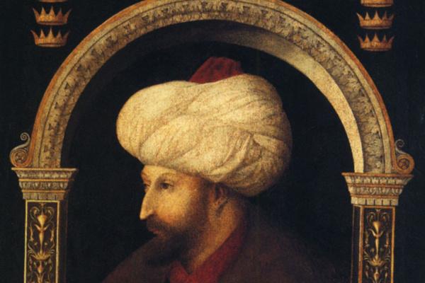 Джентиле Беллини. Портрет Мехме II
