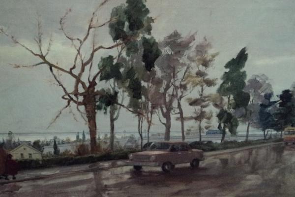 М.Р. Котляров. Вид от парка Ривьера.