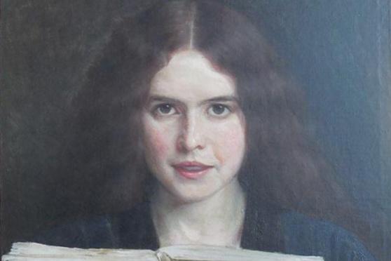 Юдель Пэн. Девушка с книгой