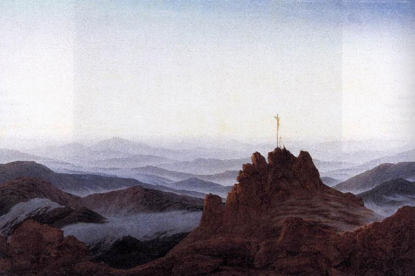 Каспар Давид Фридрих. Утро в Судетских горах