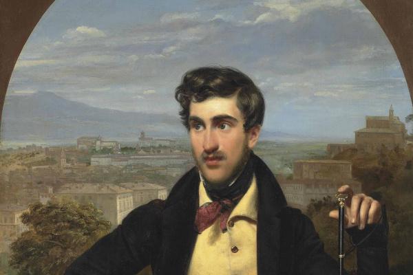 Orest Adamovich Kiprensky. Portrait of Prince Mikhail Golitsyn