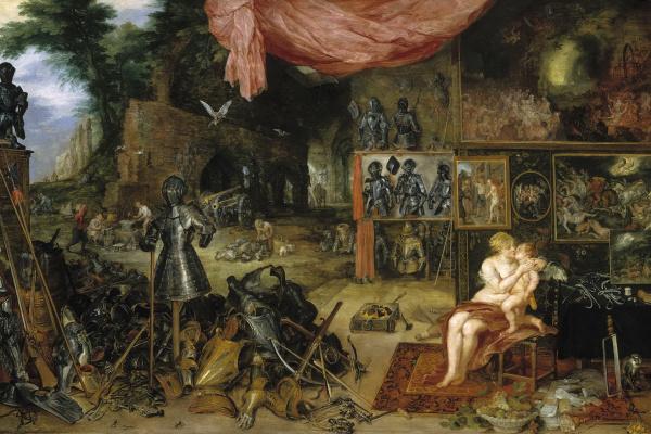 Peter Paul Rubens and Jan Brueghel the Elder. Allegory of touch