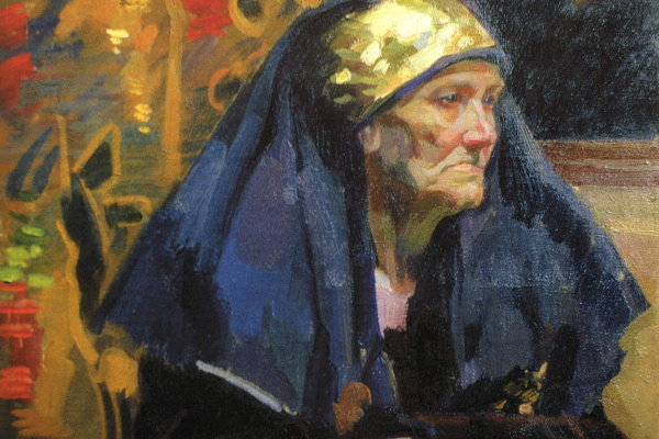Alexander Murashko. The old woman