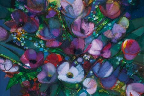 Камиль Илер. Fleurs du jardin