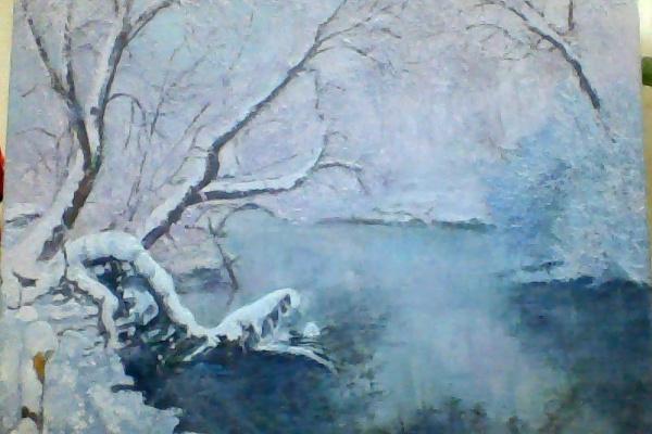 Нелли Комарова. Зимний пейзаж