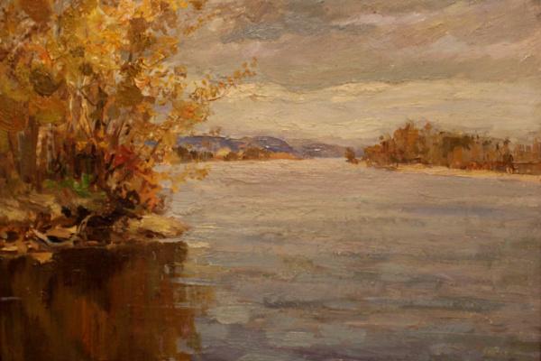 Victor Tikhonovich Karjakin. Somovsky Island