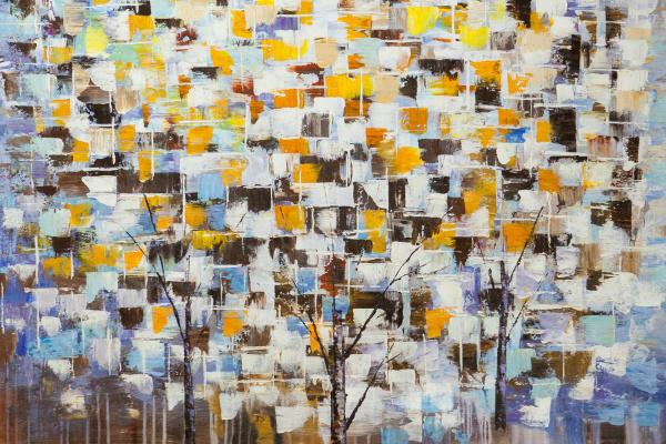 Christina Viver. Деревья. Осенний снег