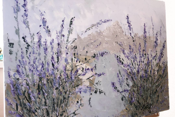 "Yaroslav Rodionova. Series ""Lavender fields of Provence"""