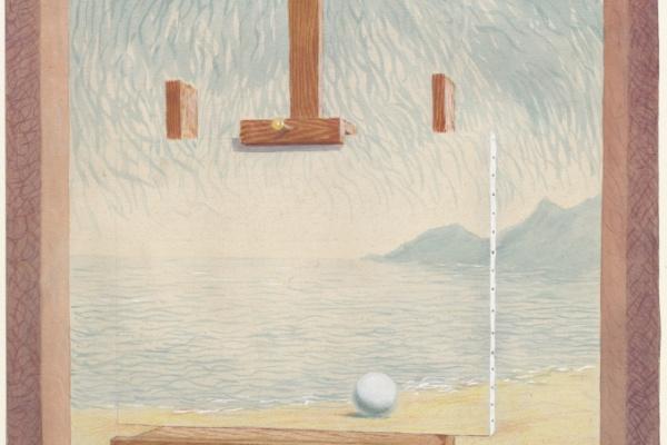 Рене Магритт. Условия человеческого существования