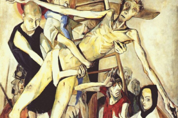 Max Beckmann. The descent from the cross