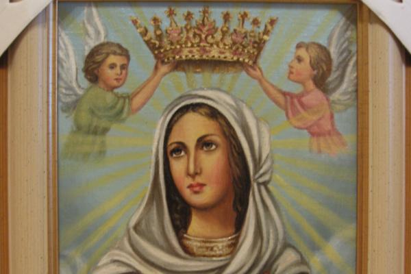 Ядвига Сенько. Дева Мария Королева - икона католическая