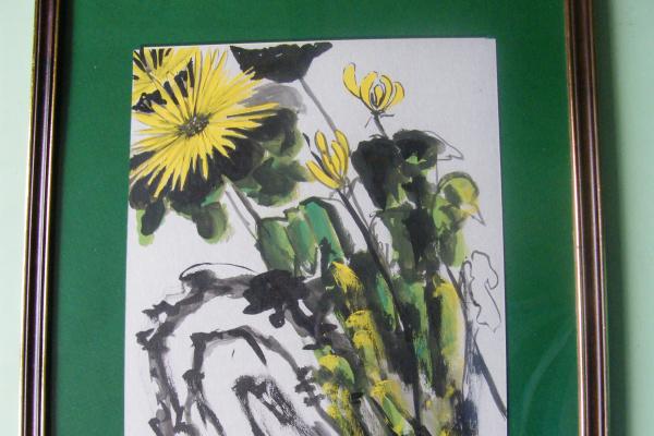 Тамара Лагунова. Хризантемы