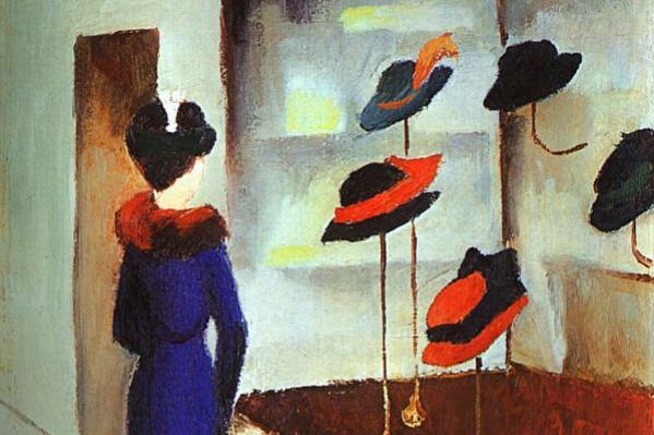 Август Маке. Многообразие шляп
