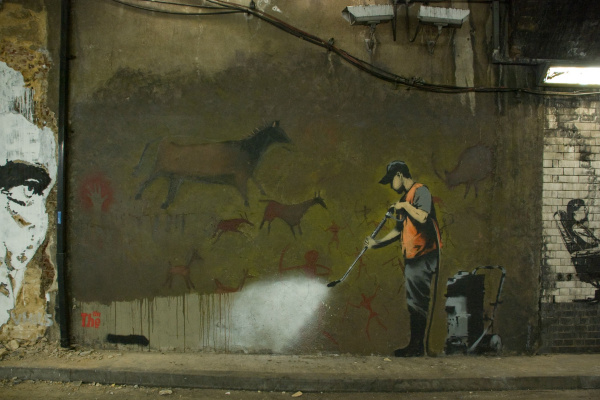 Banksy. Washer