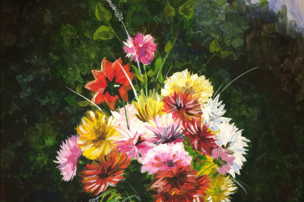 Vlada Novikova. Flowers in summer