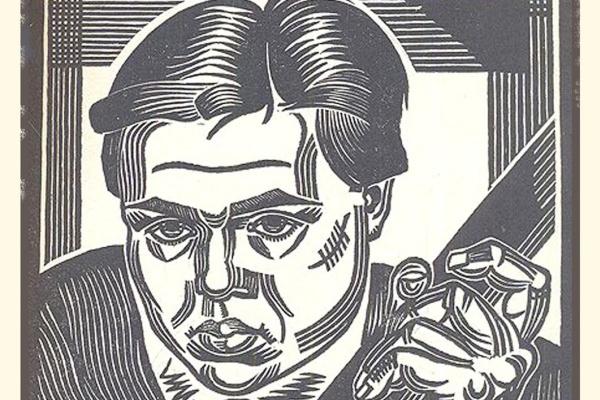 Zinoviy Isaakovich Gorbovets. Artist Nikolai Borushko
