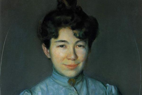 Константин Андреевич Сомов. Портрет С.П. Остроумовой