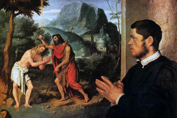 Джованни Баттиста Морони. Крещение Христа