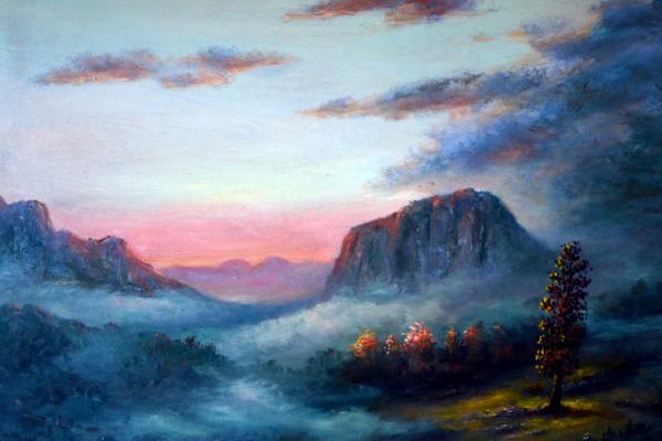 Наджаф Мамедов. Туман