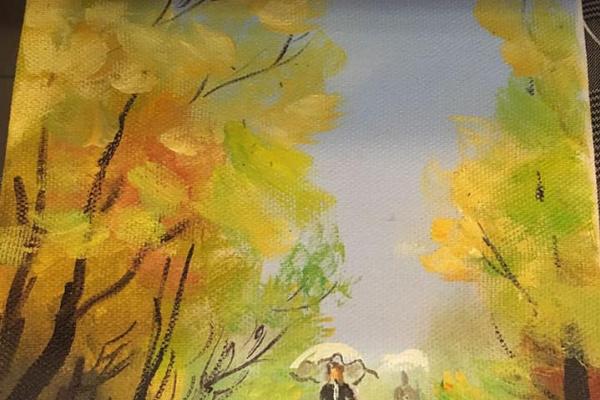 Нина Евгеньевна Ефарицкая. Осень