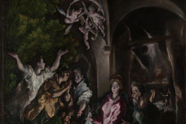 Эль Греко (Доменико Теотокопули). Поклонение пастухов