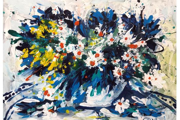 Alexander Dmitrievich Svistunov. Bouquet