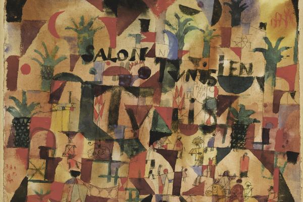 Paul Klee. Boulevard in Tunis