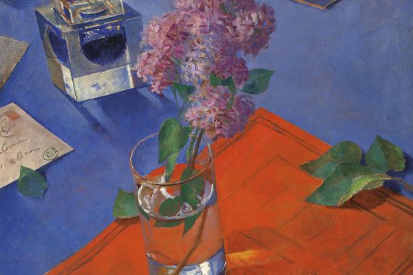 Kuzma Sergeevich Petrov-Vodkin. Still life with lilac