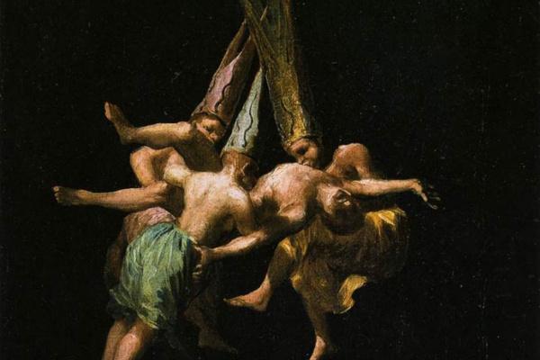 Франсиско Гойя. Полет ведьм